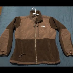 Women's XL brown DENALI NORTH FACE jacket
